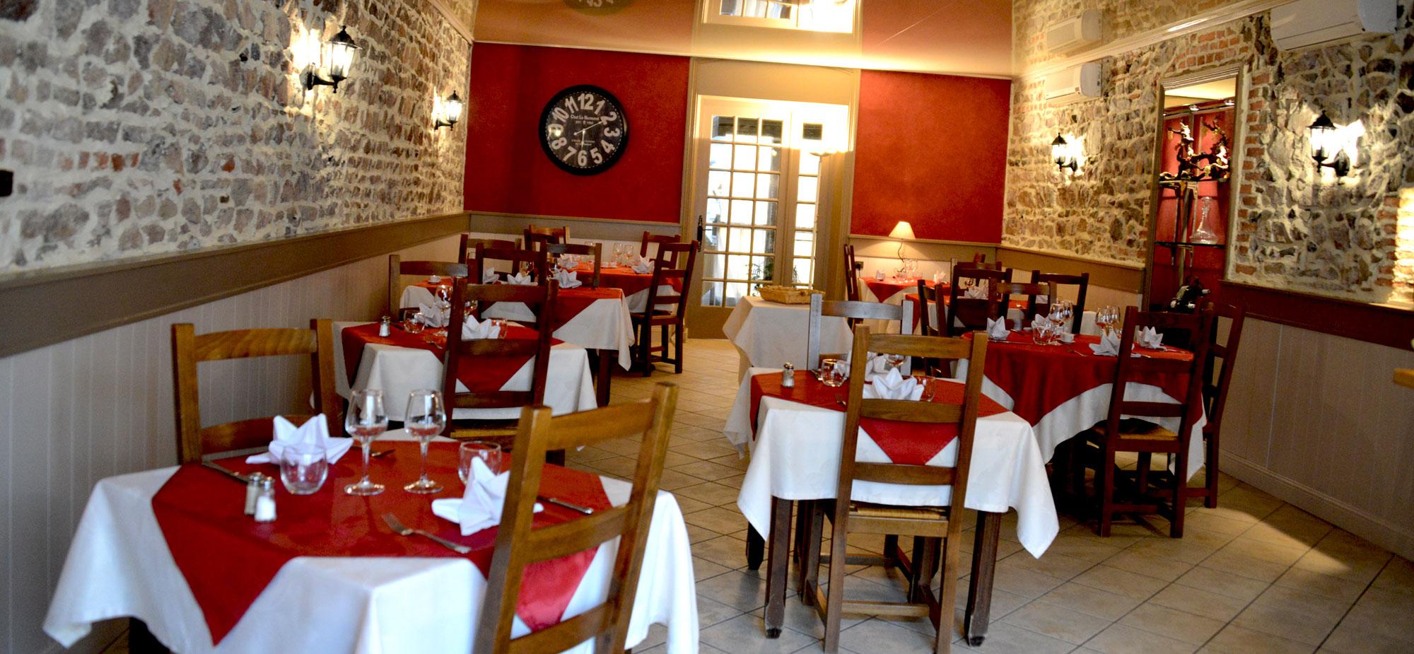 Restaurant La Chaumiere Menu Decouverte