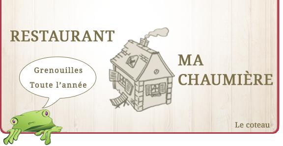 Restaurant Ma Chaumiere Le Coteau Menu